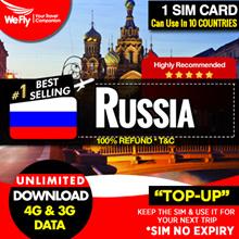 Russia Sim card :2GB highspeed 4G data 4G/3G