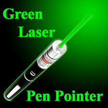[Free Batteries] Laser Pointer Pen Powerpoint Presentation Powerful Small portable Green Red color