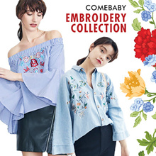 【2017.8.1】2017 Embroidery Blouse Shirts Tshirt Dress Pants Collections