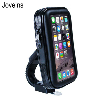 newest 7cb99 3d2ba Joveins Waterproof Motorcycle Motorbike Mobile Phone Holder Bag Case For  iPhone X 8 7 6s Samsung Mou
