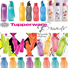 Eco Water Bottle ★ Authentic TUPPERWARE ★ Kids Water Bottle * BPA Free * Lifetime Warranty *