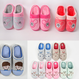 2016 new Home indoor shoes bedroom slippers anti slip fluffy soft and comfortable footwear Pyjamas PJ Homewear sandal flip flop men slipper couple slippers lovers slippers boy soft shoes