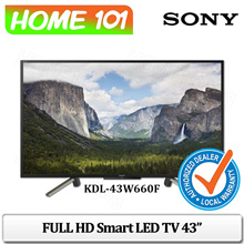 SONY FULL HD Smart LED TV 43 Inch KDL-43W660F