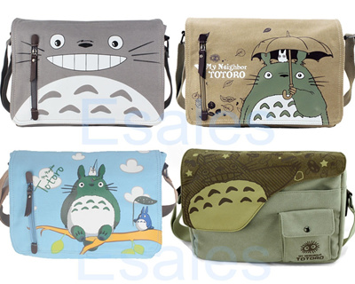 8d31ffe964e6 Qoo10 - Cute My Neighbor Totoro Canvas Shoulder Bag Messenger Anime ...