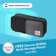 [12.12] Fellow Promotion - ACUVUE Cash Voucher ◆ Free BORSA multi Storage Pouch