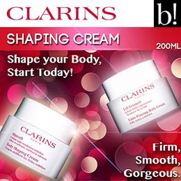[CLARINS]Body Shaping Cream 200ml / Extra Firming Body Cream 200ml Shape Your Body Now (Fresh Stock)