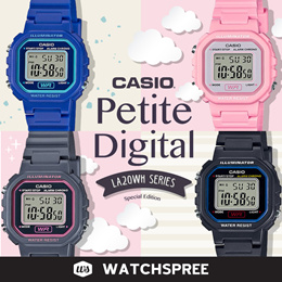 6918ef575e Petite Digital Watches Series. LA20WH Series. Free Shipping and Warranty!