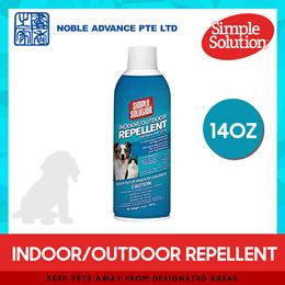 [SIMPLE SOLUTION] Indoor/Outdoor Repellent (Dog/Cat) 14 oz