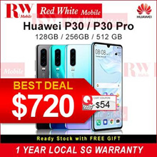 Huawei P30 Huawei P30 Pro Huawei Phone Mobile  SG 2 Years Warranty Redwhitemobile ( 256GB )