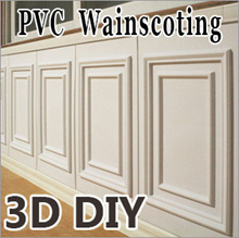 3D Wainscoting  DIY Decoration/Easy Block Real Brick WallSticker Decor wallskirt furniture wallpaper