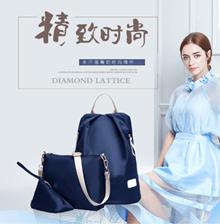 【flat shipping】[Backpack+Shoulder bag+Pouch] Waterproof nylon shoulder bag/three-piece nylon shoulder bag/pouch/backpack/shoulder bag