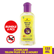 [Bundle 3/6 Pcs] KONICARE Telon Plus Oil 8 Hours_Protects baby from mosquito bites_60 / 125 ML