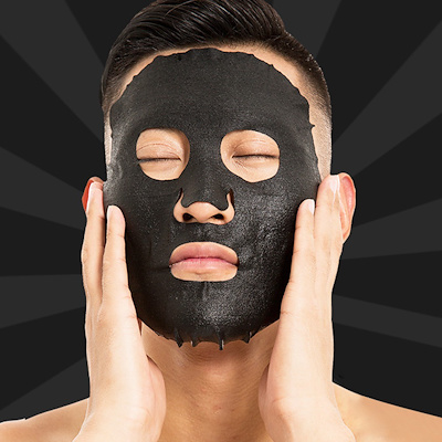 30g Bamboo Charcoal Facial Mask Effective Blackheads Removal Mask For Man