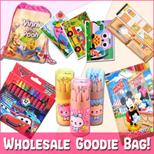 🌈 Children Goodie Bag Students School Kids Birthday Party Pencil Pens Stickers Lanyard Crayon