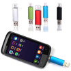 2 in 1 USB Flash Drive 8G/16G/32G/64G Lightning Data For Android Pen Drive Pendrive