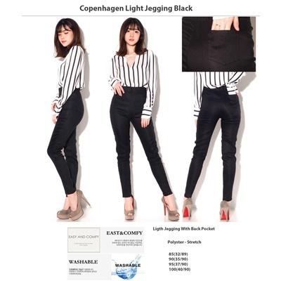 Copenhagen Light Jegging Black