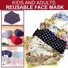 Reusable Mask. PM2.5 Filter. Washable Cloth Mask.Face Mask. Kids Mask.