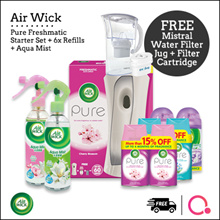 [RB]【FREE 2L Filter Jug worth $39.90!】Airwick bundle for your home - Total 9 items | Stocks from SG
