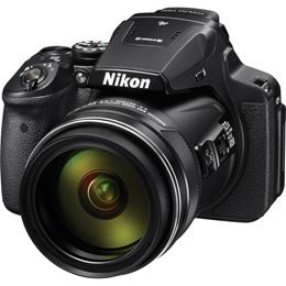 Nikon COOLPIX P900 16MP Digital Camera / 83x Optical Zoom / Built-in Wi-Fi + NFC + GPS