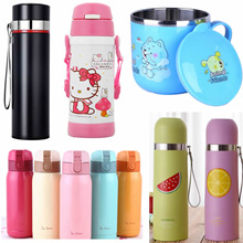 Thermos Flask Vacuum Thermal Mug warmer cup child kid thermo jug pot Water bottle coffee/outdoors