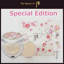 The history of Whoo Gongjinhyang Seol Radiant White Moisutre Cushion (Special Edition) SPF50+/PA+++