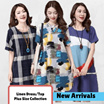 【New Arrivals】✫2016✫ Korean Linen national art style Traditional clothing/Woman linen dress/plus size/maternity/Loose tops/Comfort/atmosphere/high quality ★ Buy 3 Free Shipping ★★