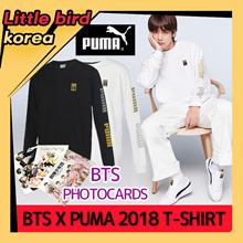 ★18FW NEW★BTS Photocards / PUMA X BTS / LS TM Longsleeve Tee 防弾少年団/ UNISEX SIZE/T- shirt