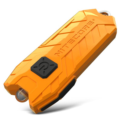 Nitecore Tube USB 45 lm DEL rechargeable lampe torche Keychain nouveau 2017-azur