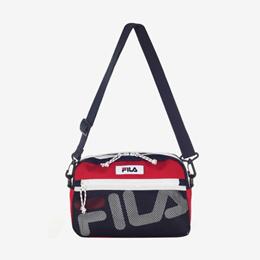 ★ONLY SEPTEMBER★20% OFF★ OVERSEAS SHIPPING / K-FASHION / [Fila] FILA Linear Logo Mesh Cross Bag BCB6