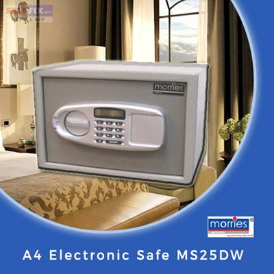 Selffix DIY」- 【Morries】Electronic Mini-safe MS-23DW 4KG