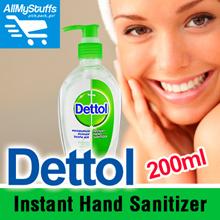 【Dettol】Instant Hand Sanitizer 200ml ● Original ●