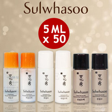 Sulwhasoo Sample Size Essential Balancing Water/Emulsion / Snowise Brightening Water/Emulsion  5ml