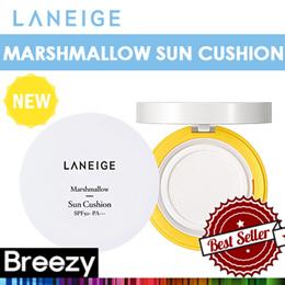 BREEZY ★ [Laneige] Marshmallow Sun Cushion SPF50+ PA+++ / 10g