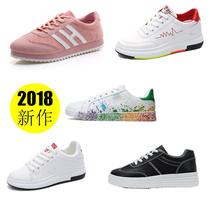 【NEW ペアルックスニーカー 】* 韓国ファッション*スニーカー靴 カップルスニーカー スニーカー シューズランニングレディース カジュアル シューズ ハイカット