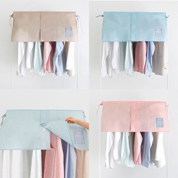 [SWEET MANGO] UIT Unique Half Hanger Cover - closet organizer clothes hanger organiser dust cover