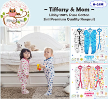 [TAMSS] 0-24M | NEW Design OCT*3IN1 Premium Sleepsuit | Baby Pyjamas | Long Pants | Baby Clothes