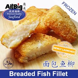 [All Big]Breaded Fish Fillet(600G)(10Pcs)(Frozen)(Halal)