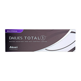 Alcon Dailies Total 1 Water Gradient One-Day Contact Lenses Multifocal (30pcs/box) PWR +5.00 ~ -10.0