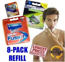 [Gillette] Fusion Power / Mach 3 / Proglide Power 8-Cartridge Shaver Refill Pack