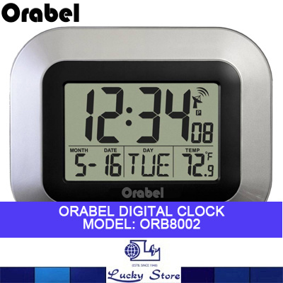 Qoo10 digital clock furniture deco orabel digital clock with date time temp wall mountable with desktop stand orb8002 fandeluxe Gallery