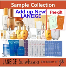 ▶BEST PRICE SAMPLE COLLECTION◀ SULWHASOO/SUM37/ OHUI/WH/HERA/LANEIGE