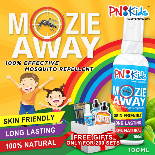 Giveaway FREE Mozie Spray Deals for only S$29.9 instead of S$0