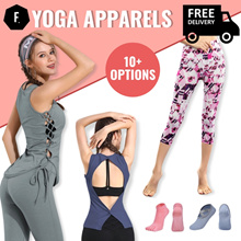 ⭐ NEW ARRIVAL PROMO ⭐ Yogawear / Yoga Tops / Bottoms ⭐ Apparel Sports FREE SHIPPING