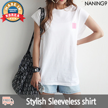 ★ Korea fashion industry NO.1 Naning9 ★free shipping ♥ 2017 S/S New!/Trendy Top /Crown Tee