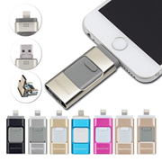 3in1 Usb flash drive For iPhone/iPad/Android/PC i-Flashdrive Pen Drive /Otg Usb Flash stick