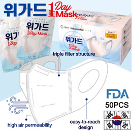 ⭐RESTOCK⭐White/ Premium 3D Disposable Face Mask50pcs /Adult mask/MASK 50PCS