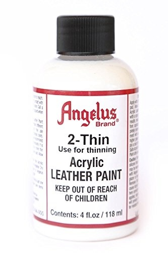Angelus Brand 2-Thin Acrylic Leather Paint Thinner 4 oz