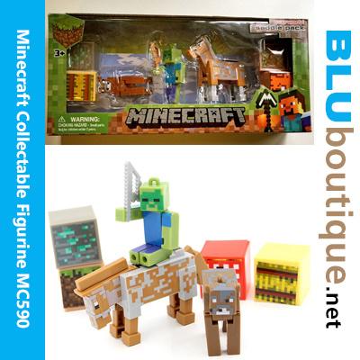 Minecraft Figurine Creeper Steve Alex Enderman Ghast Mooshroom