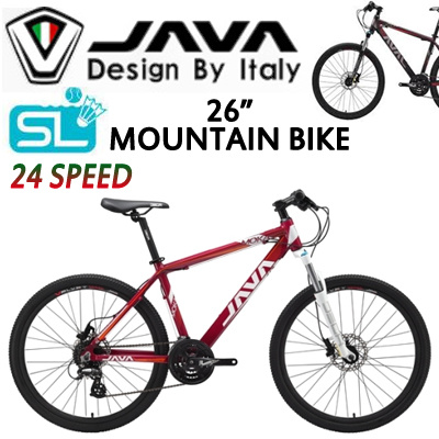 Qoo10 Java Mountain Bicycle Moka 24s A Available In 4 Colours