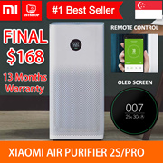 💖English Ver💖 [Xiaomi Smart Air Purifier 2s/Pro] - use app check air quality -1stshop Singapore